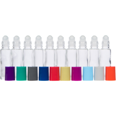 Roller Bottles with Multicolored Lids – The ORIGINAL PALETTE
